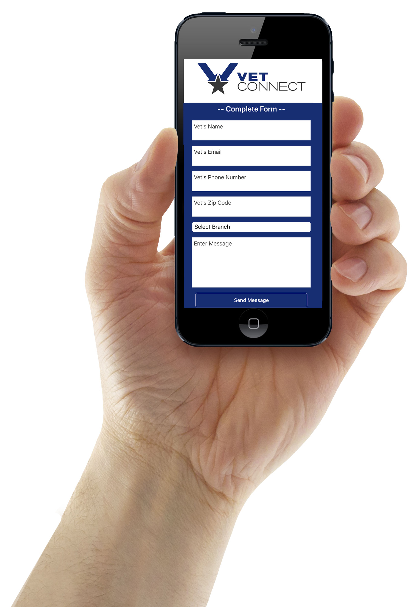 Mobile App - Vet-Connect