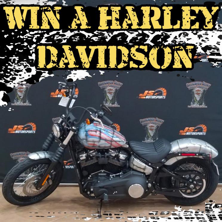 Win a Harley Davidson Raffle